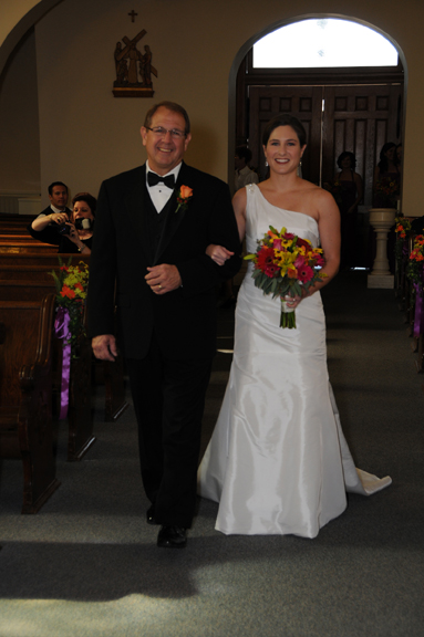 Photo of The Bride and Father of The Bride